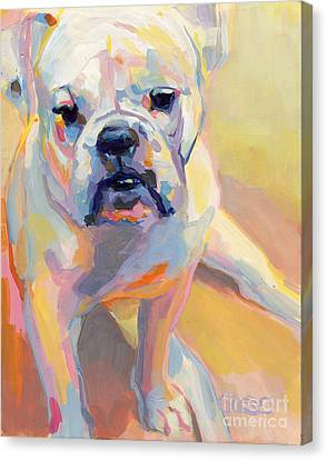 Gus Canvas Print by Kimberly Santini