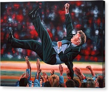 Guus Hiddink Canvas Print by Paul Meijering