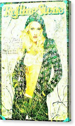 Gwen Canvas Print by Chris Cloud
