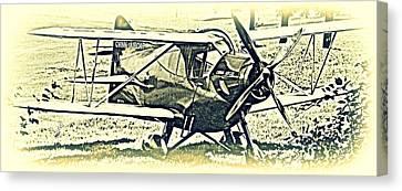 Gwinn Aircar 4 Place Canvas Print by Hank  Clark
