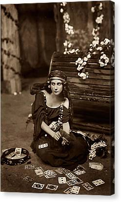 Gypsy Canvas Print by Unknown