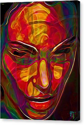 H3ad Sh0ts 20 Canvas Print by  Fli Art