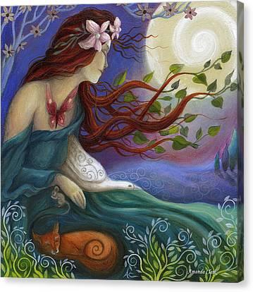 Habondia Canvas Print by Amanda Clark