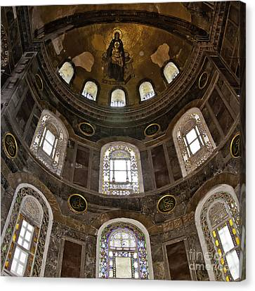 Hagia Sofia Interior 06 Canvas Print by Antony McAulay