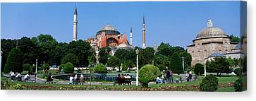 Hagia Sophia, Istanbul, Turkey Canvas Print by Panoramic Images