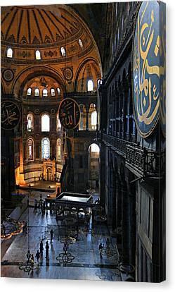 Hagia Sophia Canvas Print by Stephen Stookey