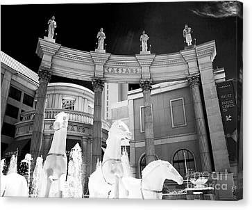 Hail Caesars Canvas Print by John Rizzuto