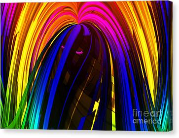 Hair Canvas Print by Cheryl Young