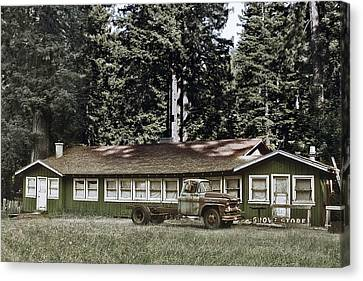 Hales Grove Ca Trapped In The Past Canvas Print by Christine Till