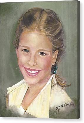 Haley  Canvas Print by Diane Strain