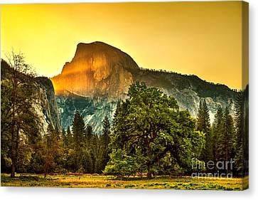 Half Dome Sunrise Canvas Print by Az Jackson