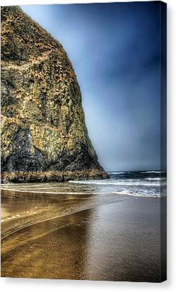 Half Stack Canvas Print by Spencer McDonald