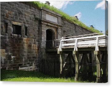 Halifax Citadel Canvas Print by Jeff Kolker