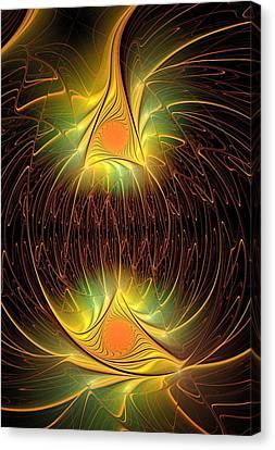 Halloween Lights Canvas Print by Anastasiya Malakhova