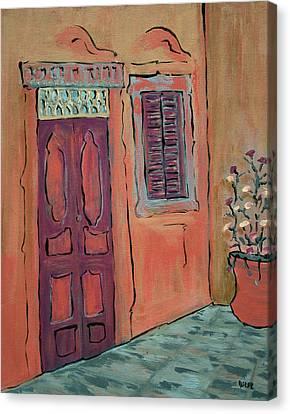 Hallway Canvas Print by Oscar Penalber