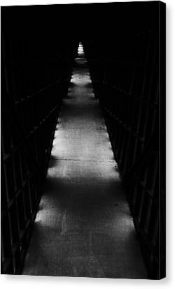 Hallway To Nowhere Canvas Print by Christi Kraft