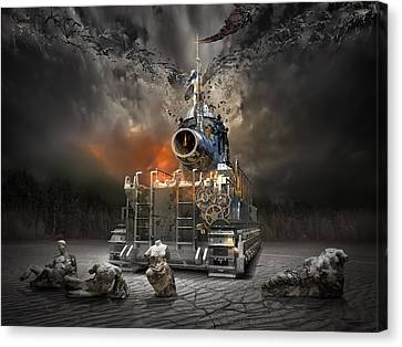 Hammer Of God Canvas Print by George Grie