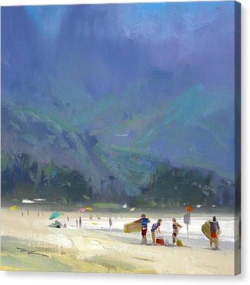 Hanalei Bay Canvas Print by Richard Robinson