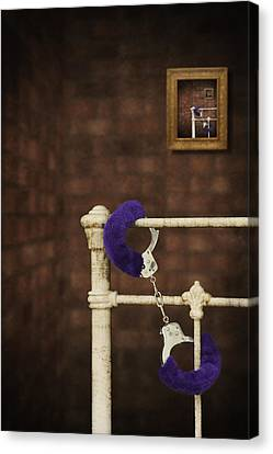Handcuffs Canvas Print by Amanda And Christopher Elwell