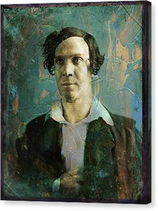 Handsome Fellow 1 Canvas Print by James W Johnson