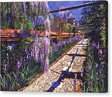 Hanging Garden Canvas Print by David Lloyd Glover