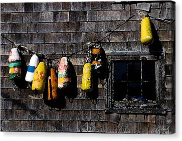 Hanging Out To Dry Canvas Print by Cole Black