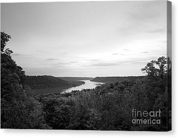 Hanover College Ohio River View Canvas Print by University Icons