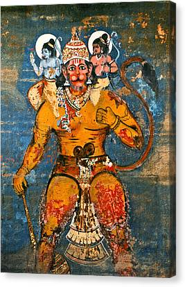 Hanuman Canvas Print by Kurt Van Wagner