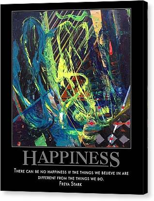 Happiness Sold Canvas Print by Sylvia Greer