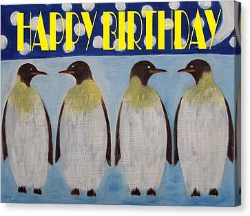 Happy Birthday 15 Canvas Print by Patrick J Murphy