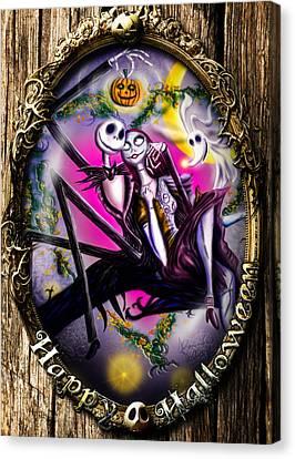 Happy Halloween IIi Canvas Print by Alessandro Della Pietra