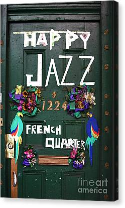 Happy Jazz Canvas Print by John Rizzuto