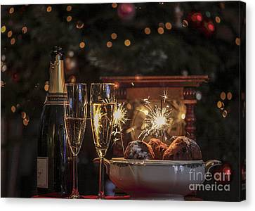 Happy New Year Canvas Print by Patricia Hofmeester