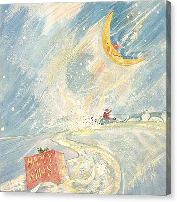 Happy Xmas  Canvas Print by David Cooke