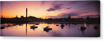 Harbor Cape Cod Ma Canvas Print by Panoramic Images