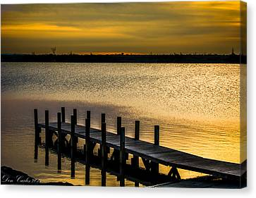 Harbor Lake Canvas Print by Carlos Ruiz