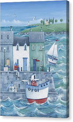 Harbour Gifts Canvas Print by Peter Adderley