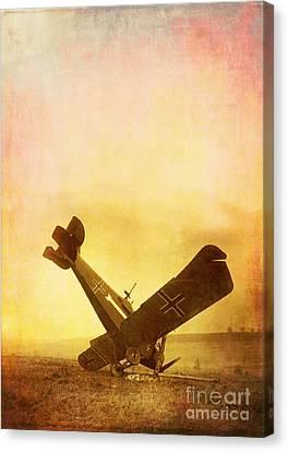 Hard Landing Canvas Print by Edward Fielding