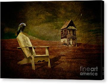 Hard Times Canvas Print by Lois Bryan