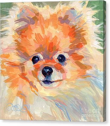 Hardley A Hadley Canvas Print by Kimberly Santini