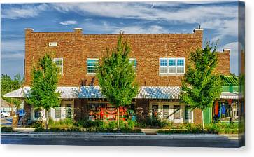 Hardware Store - Franklin Tennessee Canvas Print by Frank J Benz