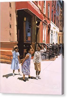 Harlem Jig Canvas Print by Colin Bootman