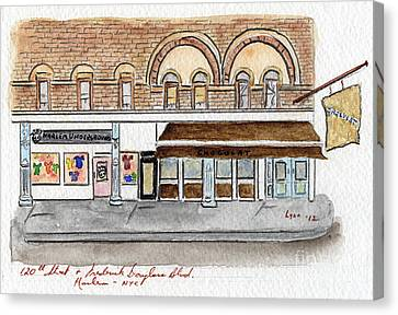 Harlem Underground And Chocolat In Harlem Canvas Print by AFineLyne
