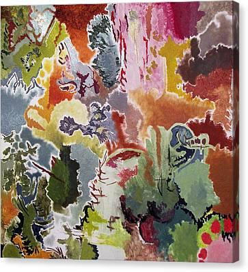 Harmonic 7 Canvas Print by Lazaros Kalogirou