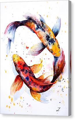 Harmony Canvas Print by Zaira Dzhaubaeva