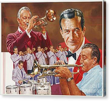 Harry James Trumpet Giant Canvas Print by Dick Bobnick