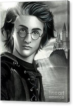 Harry Potter And The Goblet Of Fire Canvas Print by Crystal Rosene