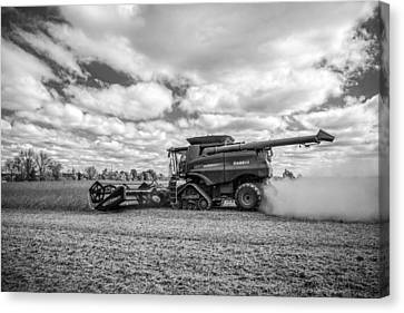 Harvest Time Canvas Print by Dale Kincaid