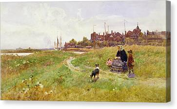 Hastings Canvas Print by Thomas James Lloyd