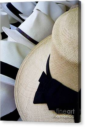 Hats Off To You Canvas Print by Lainie Wrightson